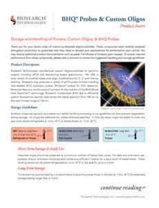 BHQ oligos y sondas
